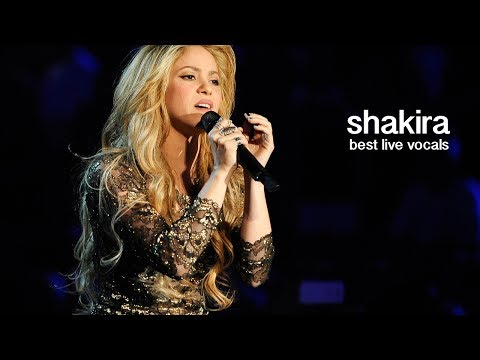 Shakira's Best Live Vocals