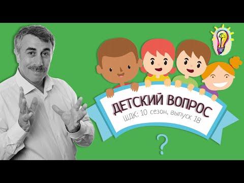 «Детский вопрос» (10 сезон 18 выпуск) — Доктор Комаровский