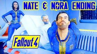 Fallout 4 - NATE & NORA KILL KELLOGG TOGETHER - Revenge w/ Nora