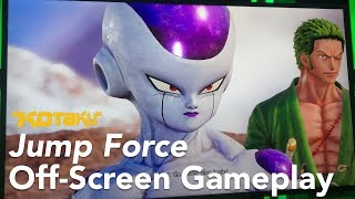 Jump Force Gameplay E3 2018 (Off-Screen, No Game Audio)
