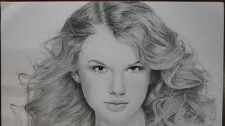 Sketching Taylor swift