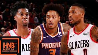Phoenix Suns vs Portland Trail Blazers - Full Game Highlights | October 12, 2019 NBA Preseason