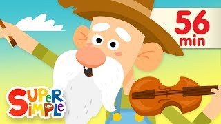 Old MacDonald Had A Farm (2018) | + More Kids Songs | Super Simple Songs