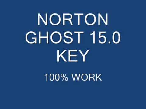 norton ghost 15.0 serial key