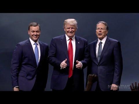 NRA officially backs Trump 2016