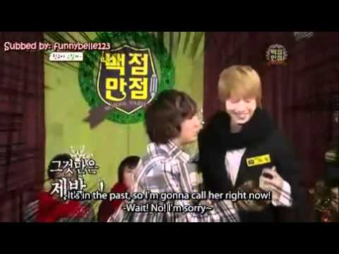[ENG SUB] Heechul's dangerous mouth