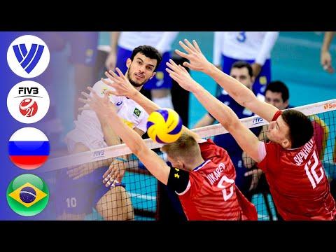 Russia vs. Brazil - Full Bronze Medal Match | Men's Volleyball U21 World Championships 2019