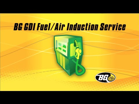BG Automotive Maintenance Service: BG GDI Fuel/Air Induction Service