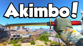 AKIMBO SWORDS! (Call of Duty: Modern Warfare Dual Kodachis)
