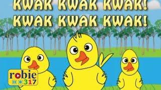 Tatlong Bibe Animated (Awiting Pambata) | Tagalog Nursery Rhymes