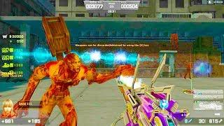 Counter-Strike Nexon: Zombies - Zombie Scenario Mode online gameplay on Trap map (Hard6)