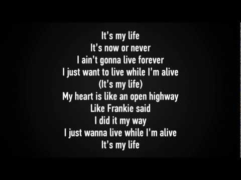 Bon Jovi - It's my life lyrics [HD]