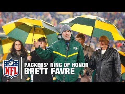 Brett Favre's #4 Unveiled in Packers' Ring of Honor | Full Ceremony