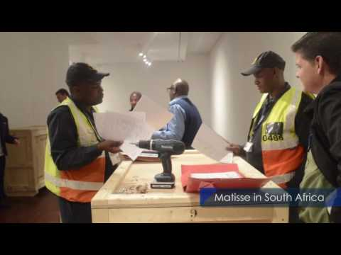 The Making of the Henri Matisse Rhythm and Meaning exhibition  in South Africa Final