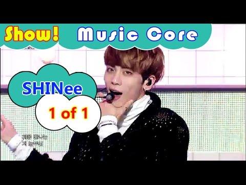 [Comeback Stage] SHINee - 1 of 1, 샤이니 - 원 오브 원 Show Music core 20161015