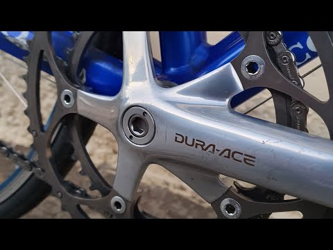 Colnago Dream Lampre Restoration Build with Dura-Ace 7700