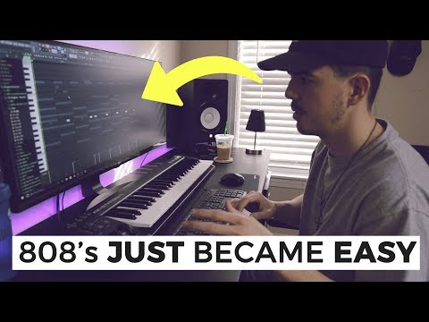 MY TRICKS HOW TO USE 808 DRUMS *FIRE* | Making a Beat FL Studio
