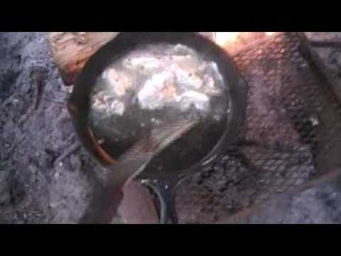Campfire cooking 1, survival, preparedness, peak oil, homesteading, self reliance, dutch oven