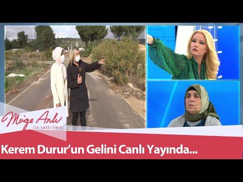 Kayıp Kerem Durur'un gelini canlı yayında... - Müge Anlı İle Tatlı Sert 3 Aralık 2020