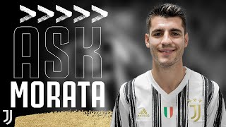 📝😊?? ASK ALVARO MORATA! | Junior Members Q&A | Juventus Junior Reporter