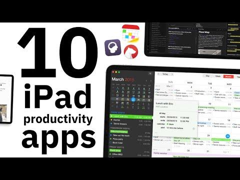 Top iPad Productivity Apps of 2021