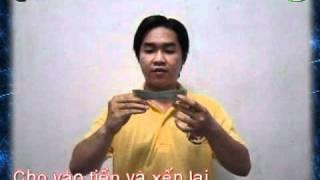 """[Hướng dẫn] ảo thuật """"Tiền bay trên tay"""" - KLi. Việt (HoangVietMagic)"""