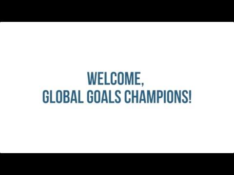 UNDP's 17 Global Goals Champions