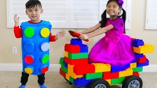Wendy Pretend Play Transform Blocks to Toy Car & Fun Kids Toys