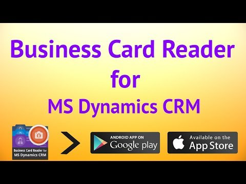 Business Card Reader for Microsoft Dynamics CRM 1 1 131