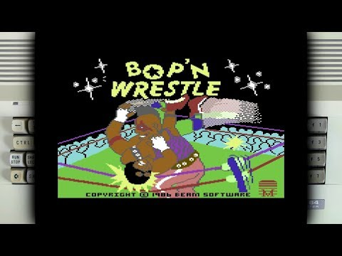 Bop'n Wrestle on the Commodore 64