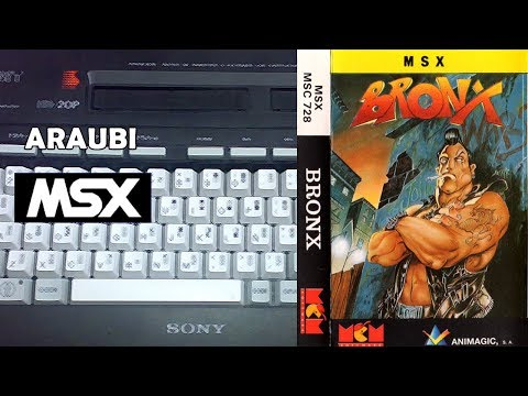 Bronx (Animagic, 1989) MSX [119] El Kiosko