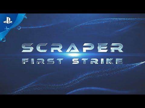 Scraper: First Strike – In-game Beta Combat Footage | PS VR