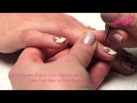 Barry M Wallflower Nail Art with Sophie Harris-Greenslade