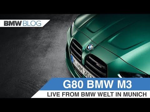 2021 BMW M3 Competition (G80) live from BMW Welt