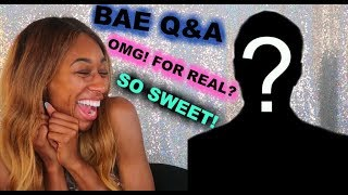 Q&A WITH MY BOYFRIEND- (SOME OF HIS ANSWERS WERE SURPRISING!)