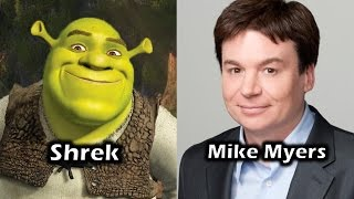 Characters and Voice Actors - Shrek