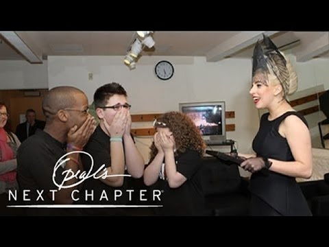 Lady Gaga Surprises Three Brave Teens | Oprah's Next Chapter | Oprah Winfrey Network