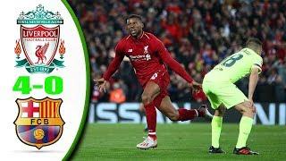 4-0 Là Kết Quả - Liverpool Vs Barcelona   Cúp C1 2019 Highlights & All Goals   Full HD 1080i