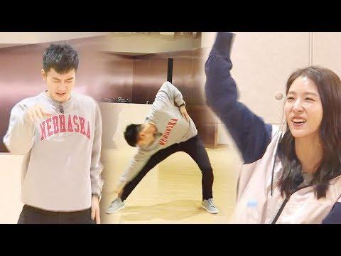 이승기, 보아 사부의 환호 이끌어낸 '필 충만' 댄스 삼매경! @집사부일체 12회 20180325