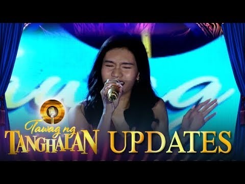 Tawag ng Tanghalan Update: Jannine Cartegana will do her best to protect the Golden Microphone