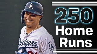 Dodgers NL Record 250 Home Runs