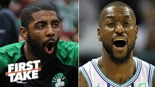 Will Kyrie Irving or Kemba Walker have a bigger impact next season? | First Take
