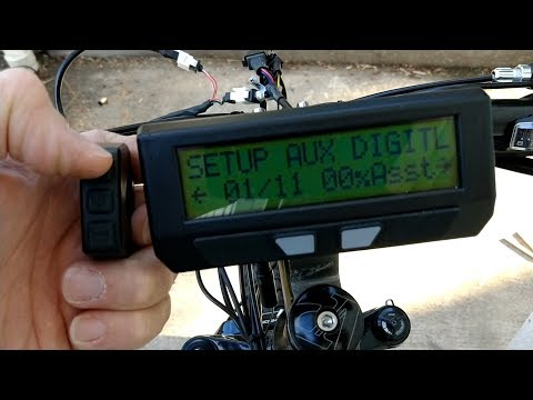 Setting up a PAS with the Digital AUX Switch and a Cycle Analyst V3.1