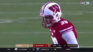 Zach Hintze 62-Yard Field Goal vs Purdue - 11/23/2019