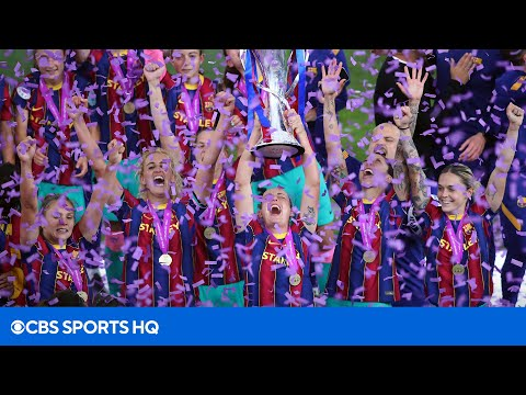 Women's Champions League Final Highlight and Recap [CHELSEA VS BARCELONA] | CBS Sports HQ