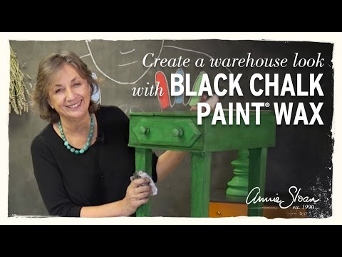 Creating a Warehouse look with Chalk Paint® and Black Wax