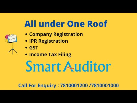 Apply for company registration in Trichy, erode & Salem | Smartauditor