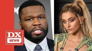 "50 Cent Asks Paris Jackson To Consider ""Little Boys Butts"" While Defending Chris Brown"