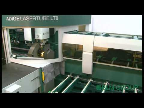 3D Tube Laser - Front Discharge