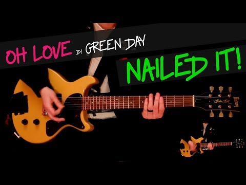 Baixar Oh Love - Green Day guitar cover by GV +chords